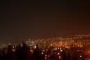 Нощна снимка на Стара Загора от паметника Самарско знаме